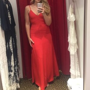 Brand New Red Hot Alice + Olivia Dress